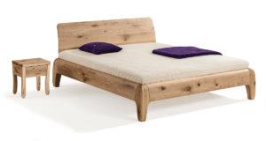 Dormiente-Bett Gonda mit Nachttisch